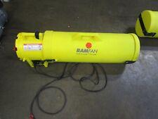 Ramfan Ub20 Confined Space Blower Fan 8 In 3 Hp 120vac Ub20 Ed7002 23a Amp