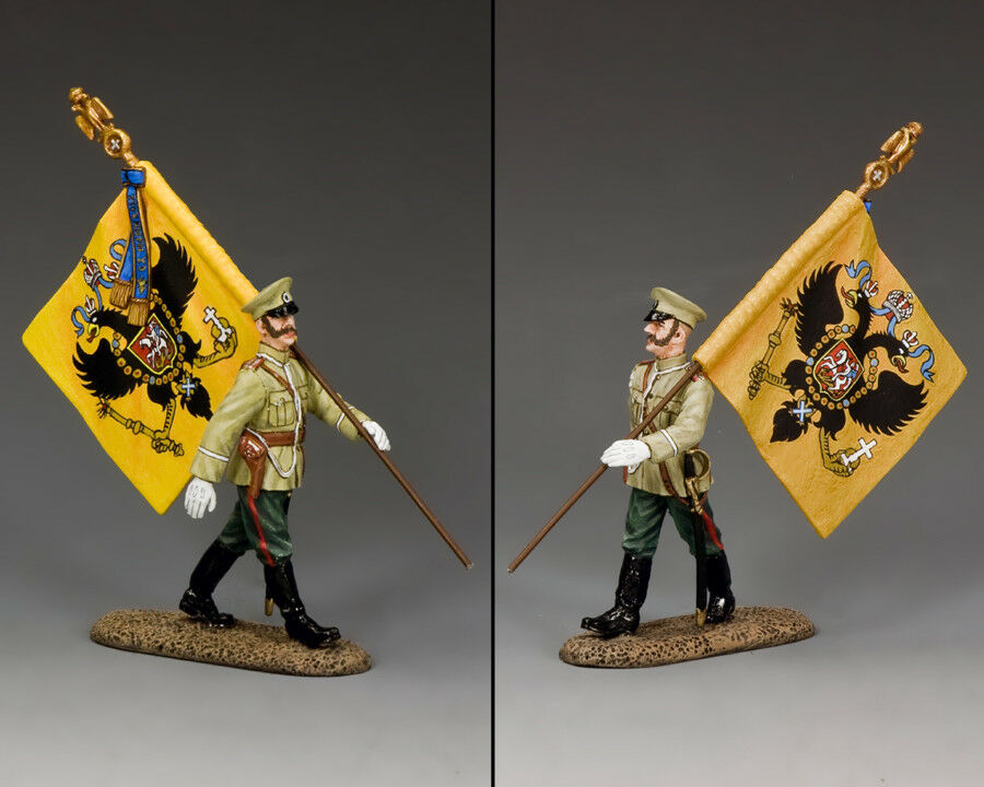 KING AND COUNTRY WWI Imperial Russian Flagbearer FW208