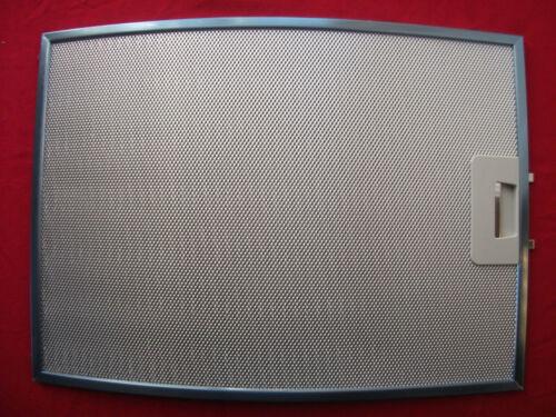 Fettfilter Metall 389,5x283mm ORIGINAL MIELE 6596450 DA146  DA156