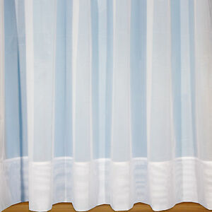 Sarah-Jayne-7-034-Envelope-Hem-Base-White-Plain-Net-Curtain-With-Rod-Slot