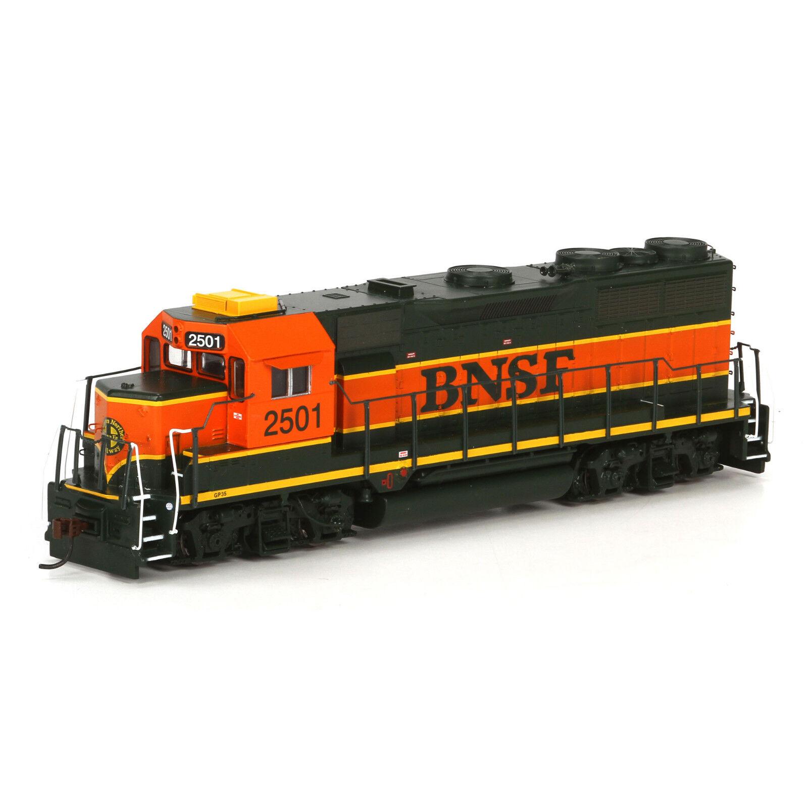 Athearn   96059 GP35, BNSF patrimonio I Motor   2502 MIB de Escala Ho