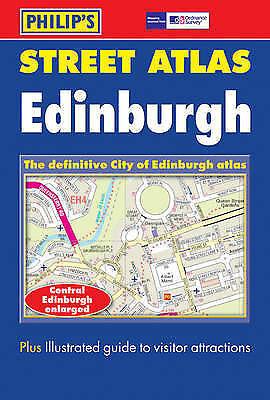 Edinburgh City Atlas (City Street Atlas), , Very Good Book
