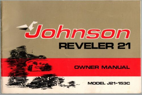 1973 JOHNSON REVELER 21 SNOWMOBILE OWNERS MANUAL 084