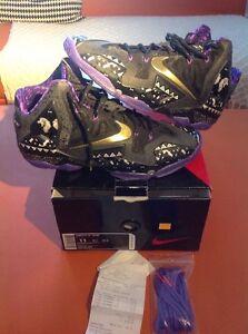 f1fc2b7c999 Nike Lebron XI 11 BHM Men s SZ 11 DS Authentic  646702-001