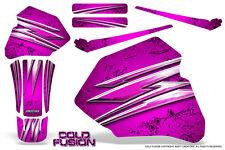 HONDA XR80 XR100 XR 80 100 1985-2000 CREATORX GRAPHICS KIT COLD FUSION PINK