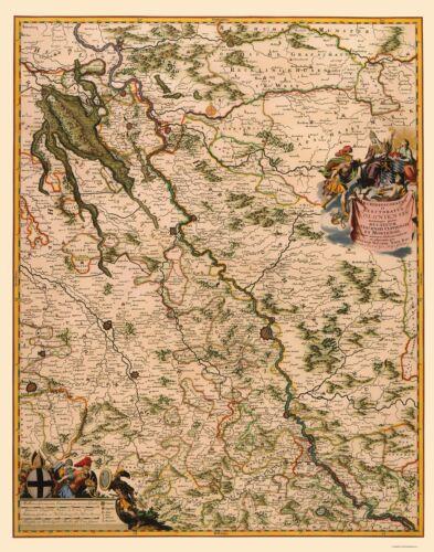 Germany Visscher 1681-23.00 x 29.29