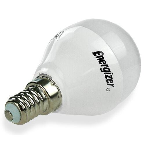 6 x Energizer 5,9 W = 40W LED SES E14 petit vis edison ampoule économie d/'énergie