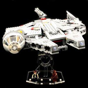 Acryl-Display-Stand-Acrylglas-Standfuss-fuer-LEGO-7965-Millennium-Falcon