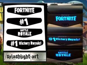 4x Contrôleur Ps4 Light Bar Vinyle Autocollant Decal Playstation 4 #1 Battle Royale-afficher Le Titre D'origine P1pphbjc-07182359-221335821