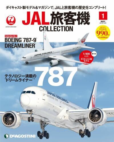 DeAGOSTINI JAL Airliner Collection Vol.1 BOEING 787-9 DREAMLINER 1//400 die cast