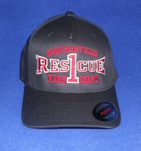 Image is loading Firefighter-Ball-Cap-Fire-Department-Hat-Custom-Embroidery- 3f006e26709