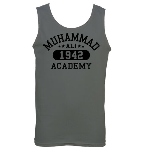 Muhammad Ali Academy Hommes Boxe Débardeur Haut Entraînement Mma Arts Martiaux
