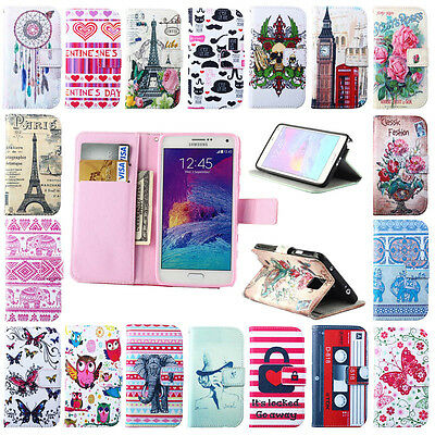 Pretty Money Credit ID Card Hold Leather Flip Wallet Stand Soft Skin Case Cover