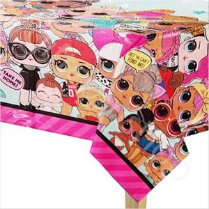 LOL-Surprise-Plastic-Table-Cover-PVC-Kids-Girls-Birthday-Party-Table-Decoration