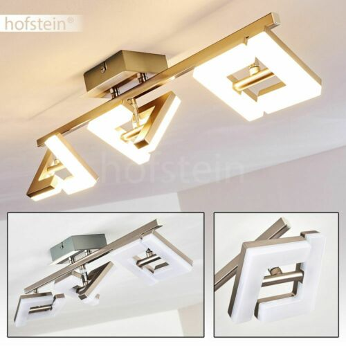 3er Spot LED Wohn Schlaf Zimmer Flur Lampen Design Decken Leuchten verstellbar