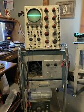 Tektronix Oscilloscope 545b With Cart And Manual And Dual Trace Module
