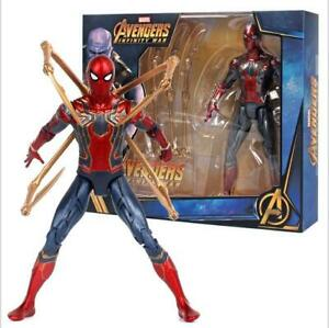 7-039-039-Iron-Spiderman-Action-Figure-Marvel-Avengers-3-Infinity-War-Spider-Man-Toy