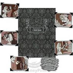 FRIDAY The 13th WEDDING ALBUM HAUNTED MANSION WDW Disney 6 PINs LE 500 BOXED SET