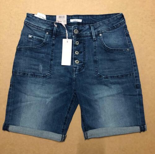 5795//color 077 Mustang señora tapered bermudas jeans Medium//Art