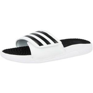 Adidas Adissage Tnd Badelatschen Badeschuhe Sandalen Schuhe White Black F35563