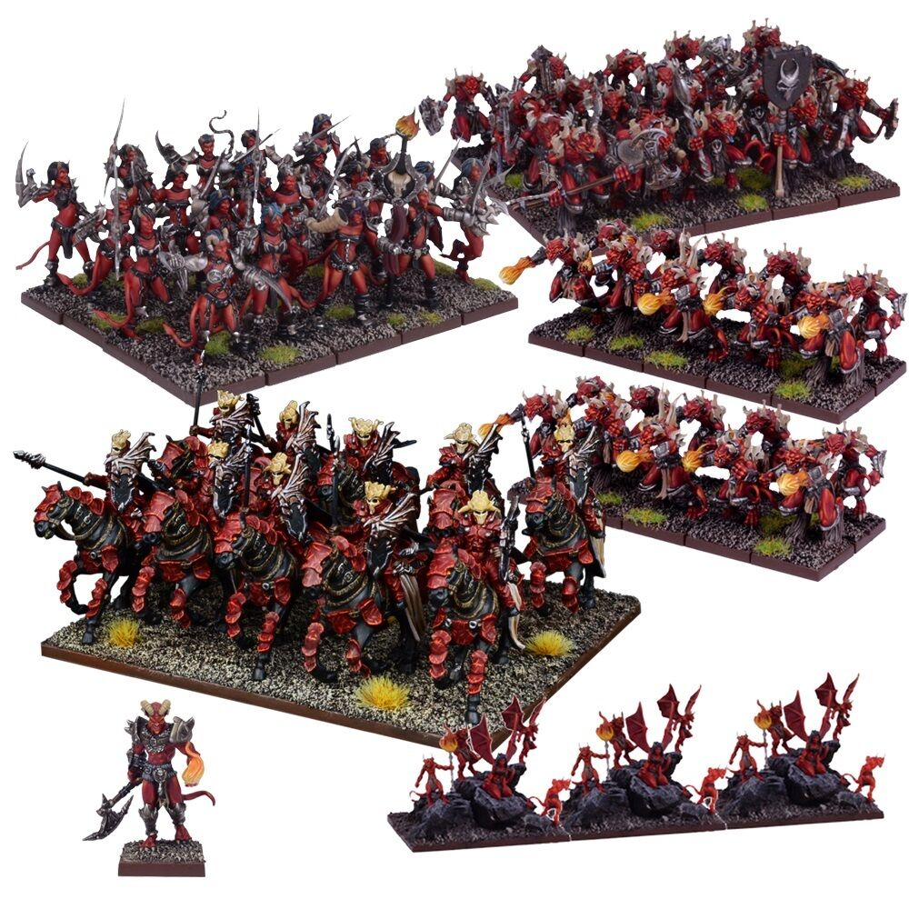 Mantic Games Kings of War BNIB Forces of the Abyss Army (2017) MGKWA108