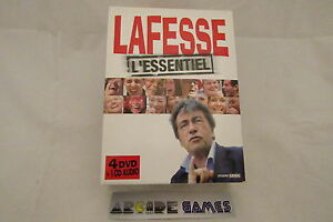 COFFRET-4-DVD-1-CD-LAFESSE-L-039-ESSENTIEL-NEUF-envoi-suivi