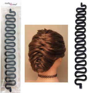 Hair-French-Plait-Braid-Braiding-Maker-Stick-Tool-Band-Twist-Roll-Styling-Spiral