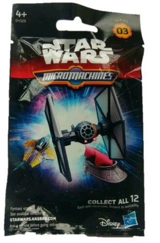 AGE 4+ NEW /& FACTORY SEALED. Star Wars Series 03 Micro Machines Blind Bag