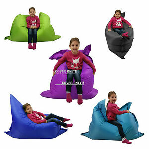 Large-Kids-Bean-Bag-COVER-ONLY-indoor-Outdoor-Beanbag-Childrens-Waterproof-Chair