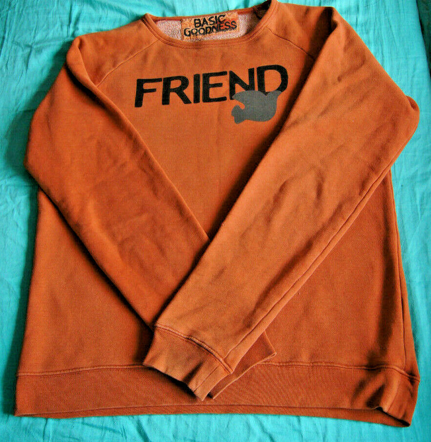 Free City Friend SweatHemd Crewneck Sweater Größe M American flag logo Dove