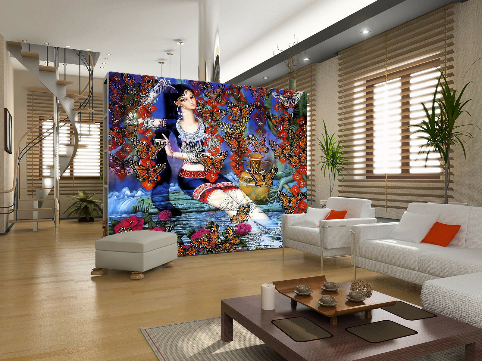3D Schmetterling Mädchen 87 Tapete Wandgemälde Tapete Tapeten Bild Familie DE | Deutschland Online Shop  | Ab dem neuesten Modell  | Angenehmes Gefühl