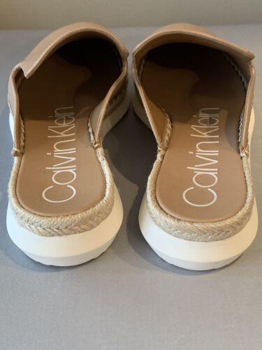 Espadrille Size 6 Klein Calvin Flats New Slides nxZSHEwq0