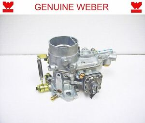 WEBER 34 ICT-6 CARBURETOR ONE-BARREL CARB 15290.035 WITHOUT CHOKE ...