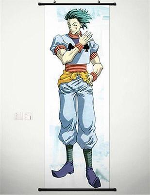 "Hot Japan Anime Hunter X Hunter Hisoka Home Decor Wall Scroll 8/""x12/"" 02"