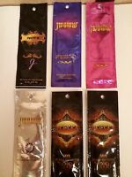 Rv$64 Lot Of 6 A Jwoww Bronzer Tanning Lotion Packets + Free Ship & Gift