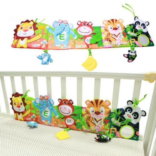 Baby bed around and cloth book with animal model baby lovely toys for baby bed Y