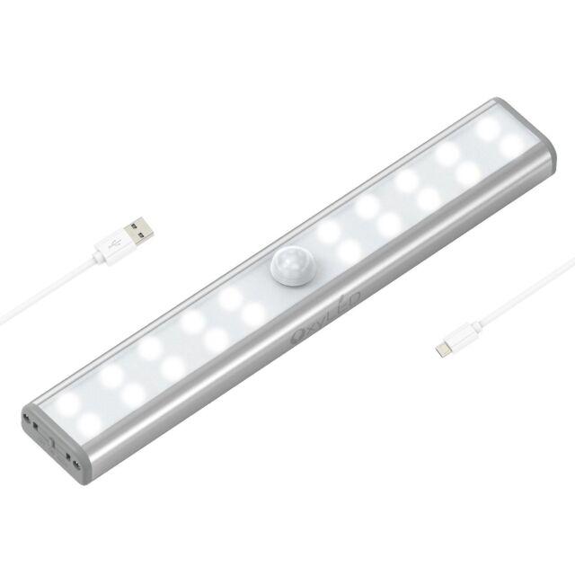 Wardrobe Light Oxyled Motion Sensor Closet Lights 20 Led Under Cabinet