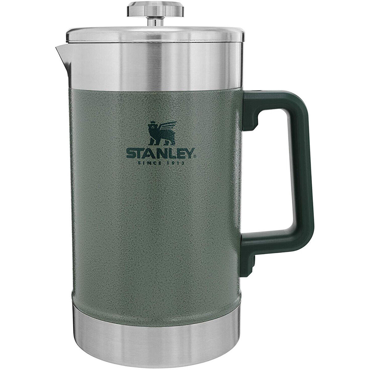 Stanley Classic 48 oz (environ 1360.75 g) Stay Chaud French Press Cafetière-Hammertone vert
