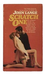 Michael-Crichton-aka-John-Lange-Scratch-One-FIRST-EDITION-1967