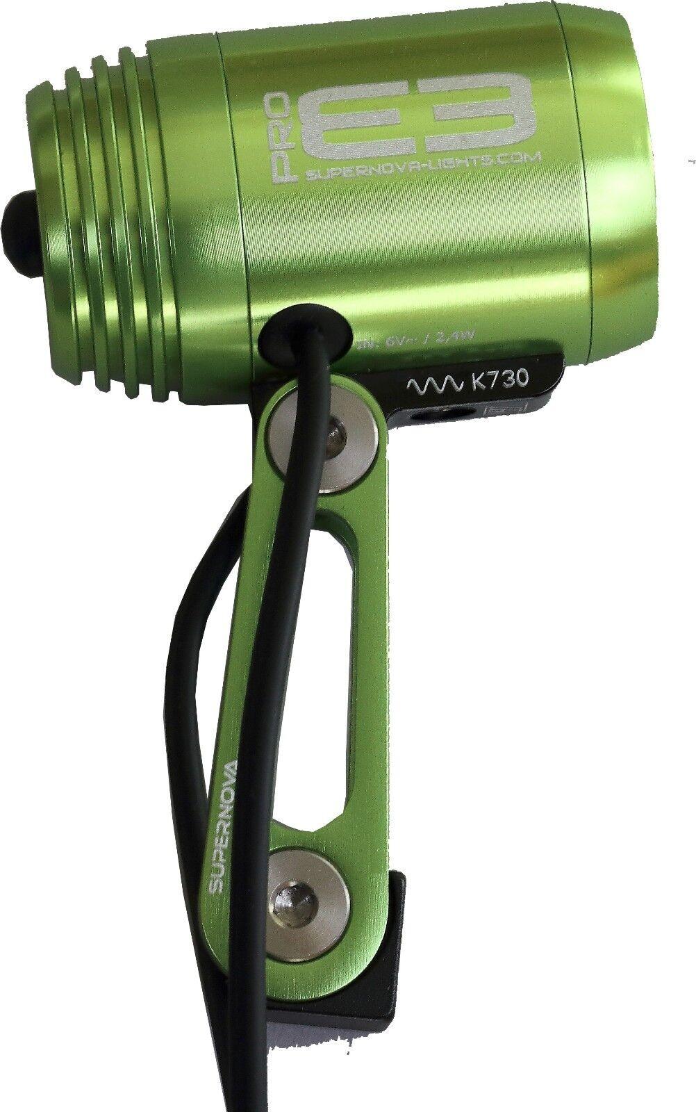 Luz Frontal súpernova E3 Pro verde