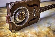 Cigarbox Gitarre (Dogbowl Resonator) mit Sound-Demo Video