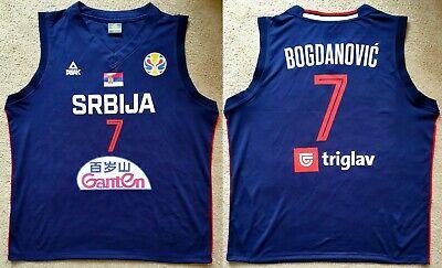 best cheap 7b3b8 6b53a Bogdanovic Serbia 2019 Camisa Jersey Maillot Trikot Basketball Sacramento  Kings   eBay