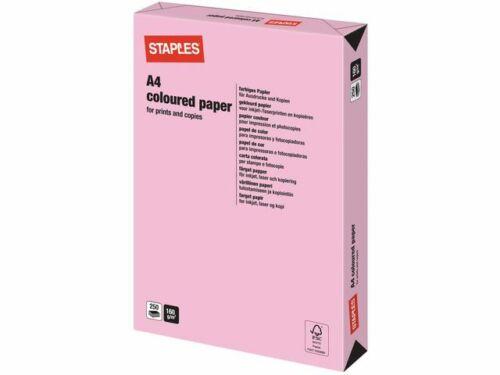 All GSM /& All Colours! Staples Coloured Printer Paper for Laser Inkjet /& Copy