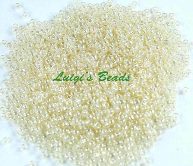 15//0 Round TOHO Japanese Glass Seed Beads #150-Ceylon Smoke 10 grams
