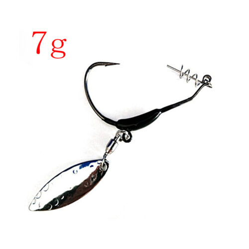 Quality Perforated Sharp Lead Head Hook Carbon Steel Jigging Durable Head