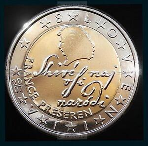 2 Euro France Prešeren Slowenien 2007 Bankfrisch Ebay