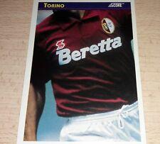 CARD SCORE 1993 TORINO MAGLIA CALCIO FOOTBALL SOCCER ALBUM