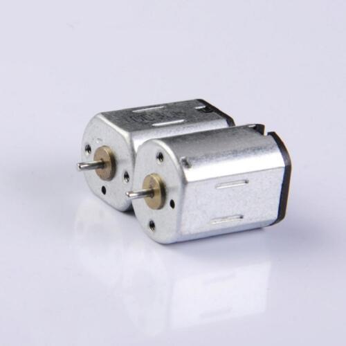 3pcs 2V-5V 12000RPM N20 Solar Micro Motors for Smart Car Robot RC Aircraft