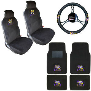 Floor Mats Set, Car Seat Steering Wheel Covers