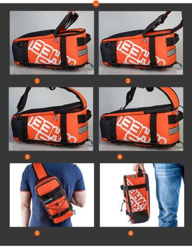 Roswheel bicycle pack bag mountain bike pack biking bag rear shelf back seat bag